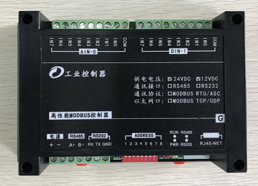 China 32 - Bit ATMEL ARM Modbus RTU IO Module Data Acquisition I / O Module IP20 distributor